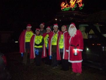 Our Santa Float raised over £3,500 for Charity this year !